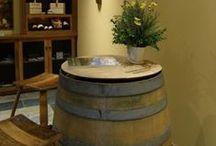 Reclaimed Wine Barrels