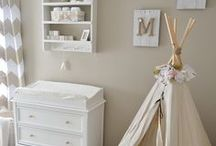 Nursery Decor / Ideas to create an amazing and beautiful nursery decor for your new little one.