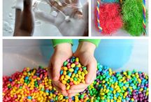Sensory Play Activities / Our top sensory play activities for babies and toddlers from some amazing bloggers!