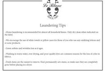 Laundering Tips