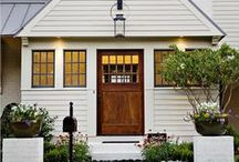 ... Front Entry. / Front doors and porches.