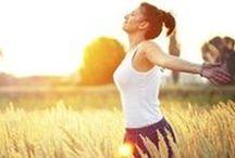 Saúde e Bem Estar / Dicas de alimentação saudável e exercícios para cuidar do corpo e da mente.