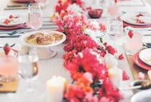 Perfect tablescapes