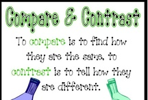 Teaching - ELA: Compare/Contrast / by Shelee Brim