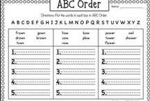 Teaching - ELA: ABC Order / by Shelee Brim