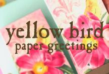 ♠️Yellow Bird Paper Greetings / ♠️Spotted in the wild