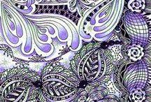 . <. Doodle Art / Zentangle .>. / by Lauren Michelle