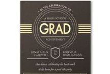 Graduation Announcements / Send your Grad off in style with these gorgeous graduation announcements and invitations from Persnickety Invitation Studio