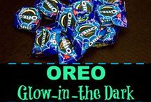 OREO: Glow-in-the-Dark Halloween Treats / Fill your Halloween basket with spooktacular glow-in-the-dark OREO 2-packs! Check out the clever crafts and fun DIY projects inspired by this sweet treat.  #OREOglowinthedark  / by Clever Girls