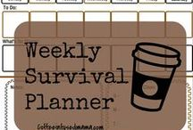 Free Printables !!! :D / Free Printables. All Free. Schedules, Planners, Blogging