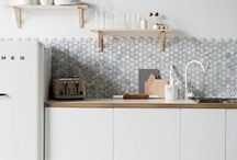 Kitchens. / Kitchens are the centre of any home, I don't care what you say. The space needs to be functional, open, and have plenty of bench space. Here are some of my favourites.