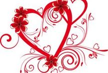 heart hugs / hearts are a symbol of love and life and we all have one! / by Laurene Stevens