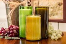 Soy Candles by Elida Candle Company / Elida Candle Company offers a full line of home fragrance products to keep your space smelling perfect including hand poured soy candles, fragrance cubes, and much more!
