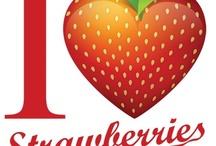 Strawberry anything / by Kristina Barnes Jordan