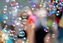 "Bubbles / ""No angry way to say bubbles"" -Unknown / by Jenny Kung"