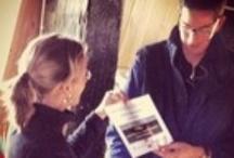 prijsuitreiking #molenslag / Op vrijdagmiddag 26 oktober 2012 heeft Vereniging De Hollandsche Molen aan molen De Blokker in Kinderdijk de cheque van € 500 uitgereikt, hoofdprijs van de Twitterwedstrijd De Hollandsche #Molenslag.