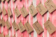 Wedding || Escort cards