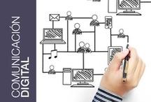 Comunicación digital / Nunca ha sido tal fácil comunicar. Publicidad, libros, revistas, campañas... ahora se pueden difundir y transmitir por otras vías más fáciles, accesibles, y económicas que el medio impreso, sin perder fuerza ni efectividad en el mensaje. • Publicaciones digitales • Newsletter • Entorno web • Redes sociales