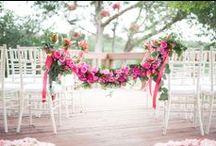 Wedding || Aisle decor