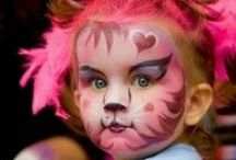 Kids face painting / by Stephani Chandler