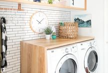 Laundry Room. / If you're lucky enough to actually have a seperate laundry that is.
