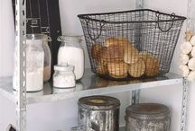 Kitchen Pantry / The pantry is where you keep all of your food obviously. Keeping it organised will make mealtime a lot less stressful.