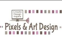 My Store @ Pixels & Art Design / by Caroline B. Laurens