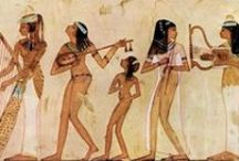 Egypt مصر Wall painting, Stele, Ancient Egyptian Art / Beautiful scenes of life in egypt in Egyptian tombs