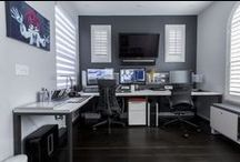 #OfficeSpace 3.0 / It's always good to have one room dedicated to an Office.  Here's some ideas.