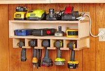 Garage Outdoor Storage / Storage ideas for the garage and other outdoor spaces