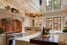 ~KITCHENS ~ / Now even I could whip up a feast here...