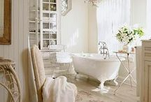 ~ BATHROOMS ~ / Ahhh, Calgon, such a pretty place to take me away...