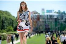 Street Style Report / Street style from music festivals, fashion week, and more.