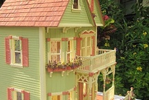 Miniature Rooms & Dollhouses / by Beverly Wolf