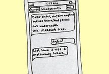 Drunk Texts from Famous Authors / Illustrations by Jessie Gaynor