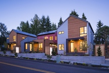 Grow Community Homes / Grow Community is a new urban neighborhood on Bainbridge Island, just a 35-minute ferry ride from downtown Seattle. With beautifully designed solar-powered homes, shared community gardens and healthy transportation options, Grow allows all generations to enjoy a high-quality lifestyle without the high price.