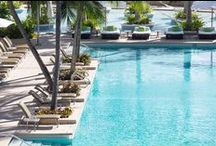 Dive in! / It's always warm here in Miami so why not take advantage of one of our three beautiful pools? Relax and order drinks & foods to your heart's content! / by Four Seasons Hotel Miami