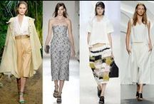 Spring Trends / Fashion ideas for spring.
