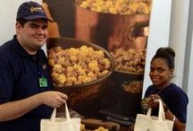 ANA September 1 ORD-NRT / To celebrate the maiden voyage, ANA gives passengers the Gift of Garrett. / by Garrett Popcorn Shops