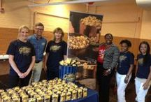 Garrett Popcorn for the First Day of School! / Garrett Popcorn helped welcome new and returning students for the first day of school at Altgeld Elementary! Read the story at the Garrett blog, http://ow.ly/oj21t / by Garrett Popcorn Shops