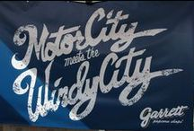 Garrett Popcorn at the Woodward Dream Cruise 2014 in Michigan / #GarrettPopcorn shared its #HandcraftedHappiness at the Woodward Dream Cruise in Detroit as we prepare to take our Windy City tradition to the Motor City.
