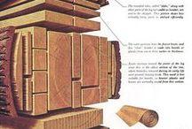PT  II - madera (estructura y detalles) / grado arquitectura tecnica eps-burgos-españa Estructuras de madera Planimetria y detalles / by Javier Bonal