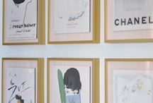 Ellis Eileen / A modern nursery, with traditional touches, for baby Ellis. / by Ashley B. Lewis