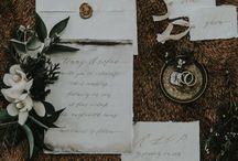 Dark and Moody Wedding Theme
