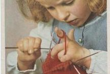 crochet and knitting / by Wayne Lenox
