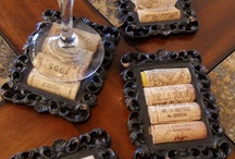 DIY wine cork craft ideas / I keep all my bottles and corks with the intent on making something with the... Now I have some creative crafts to try and wanted to share them with you.