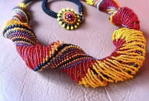 Beaded necklace / by Wayne Lenox