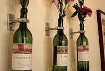 DIY wine bottle crafts / Im saving all my wine bottles to make some of these awesome crafts.  If you would like to be invited to add to this board please let me know.