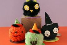 Kids' Halloween Crafts / Find tutorials for kids' Halloween crafts, Halloween crafts kids will love, step-by-step spooky kids' craft ideas, easy Halloween crafts, edible Halloween kids' crafts, Halloween crafts for kids of all ages and more!