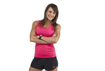 Michelle Bridges / Michelle Bridges, trainer from The Biggest Loser Australia is an ambassador for Australian Institute of Fitness